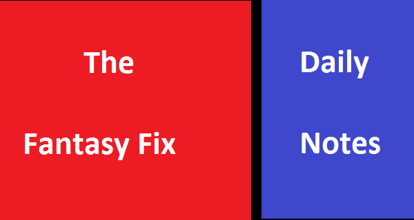 The Fantasy Fix