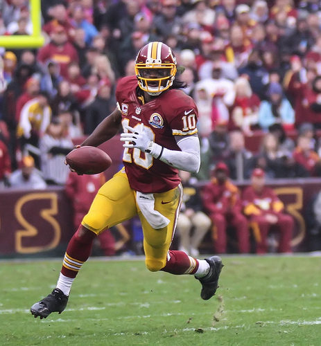 Robert Griffin III - photo by: maskirovka77-