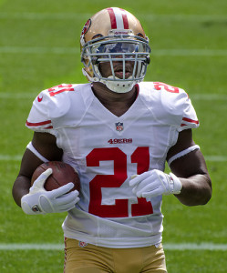 Frank Gore - RB - 49ers photo by: Mike Morbeck