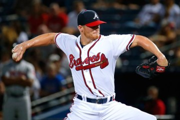ATLANTA, GA - SEPTEMBER 10: Shelby Miller #17 of the Atlanta Braves pitches in the first inning to the New York Mets at Turner Field on September 10, 2015 in Atlanta, Georgia. (Photo by Kevin C. Cox/Getty Images)